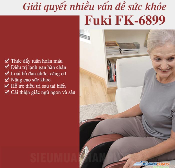 Máy massage chân 4D Fuki FK-6899