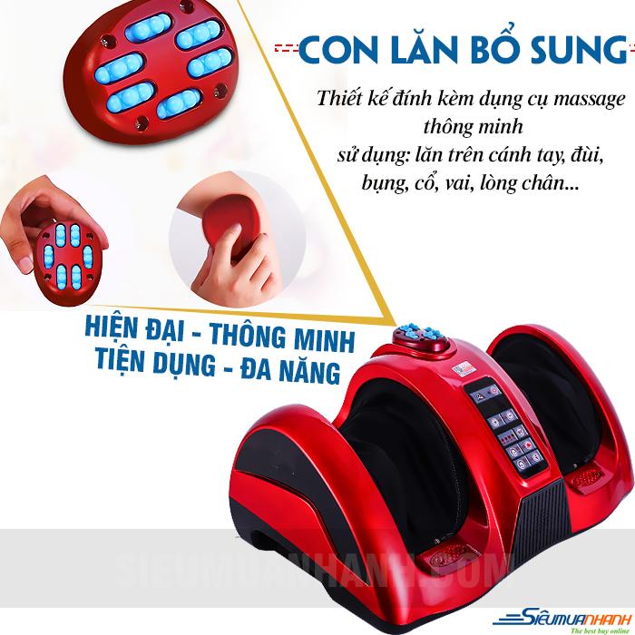 Máy massage chân hồng ngoại Fuki FK-6891