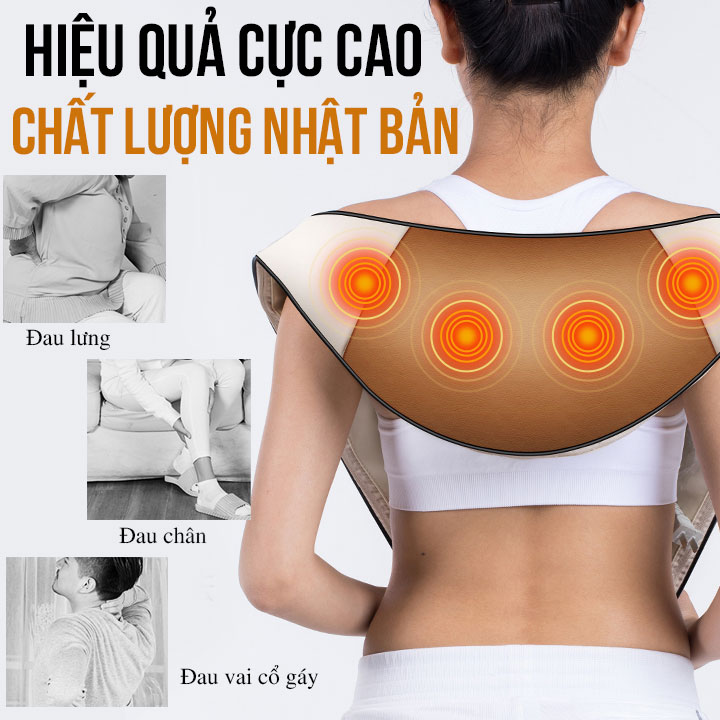 Máy massage vai lưng cổ FUKI FK-N86